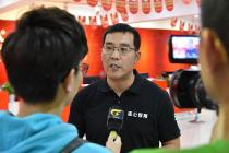 总裁李勇接受广西台采访